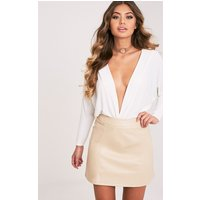 rose-stone-faux-leather-a-line-mini-skirt-stone