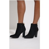 kari-black-faux-suede-gold-plate-heel-boots-black
