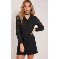 nayah-black-lace-shirt-dress-black