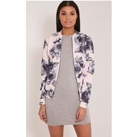 liana-pink-floral-scuba-bomber-jacket-pink