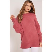 raysa-dark-rose-oversized-knitted-jumper-rose
