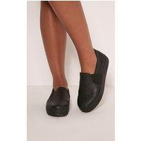 zara-black-faux-snakeskin-slip-on-trainers-black