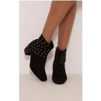 kendal-black-faux-suede-studded-ankle-boots-black