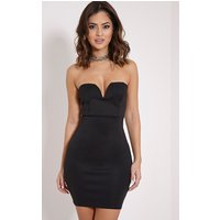 michelle-black-bandeau-dress-black