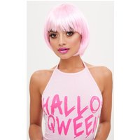 PrettyLittleThingPink Bob Party Wig, Pink