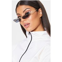 Black Lens Brow Bar Cat Eye Sunglasses