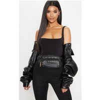 Black Stud Bum Bag