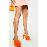 Orange Feather Mule