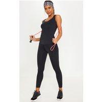 Black Basic Gym Legging