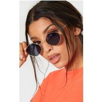 Grey Hexagon Shape Glasses