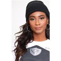 Black Beanie Hat, Black