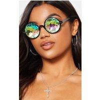 Iridescent Lens Glasses