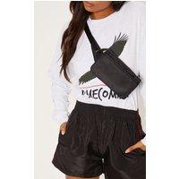Black Thin Bum Bag