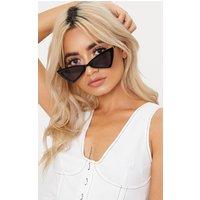 Black Triangle Frame Sunglasses