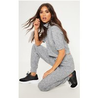 Grey Knitted Jogger Set