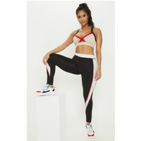 Black Marble Contour Gym Legging