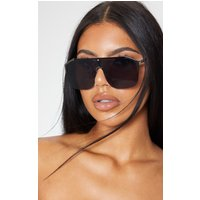 Black Oversized Tinted Sunglasses