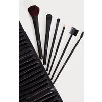 32 Piece Black Makeup Brush Set