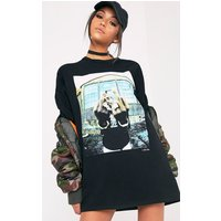 2pac Black T-shirt Dress