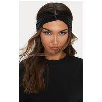 Black Twisted Headband