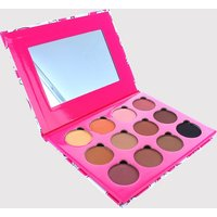 Peaches & Cream 12 Colour Eye Shadow Palette, Multi