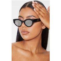 Black Cat Eye Revo Lens Sunglasses
