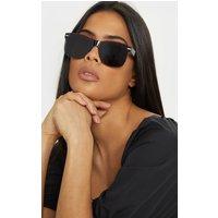 Black Rimless Revo Classic Glasses