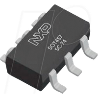 BC817DS - Double NPN Transistor 45V, 0.5A SOT457 (SC-74)