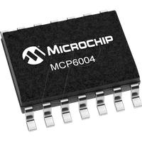 MCP 6004-I/SL - Operationsverstärker, 4-fach, 1 MHz, 0.6 V/µs, 1.8 V ... 6 V, SO