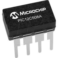 PIC 12C508A-04P - 8-Bit-PICmicro Mikrocontroller, 0,768 KB, 4 MHz, DIP-8