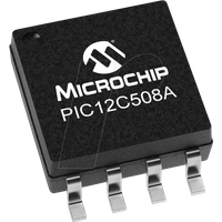 PIC 12C508A-04SM - 8-Bit-PICmicro Mikrocontroller, 0,768 KB, 4 MHz, SO-8