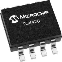 TC4420COA - MOSFET-Treiber-IC, 1-fach, 4,5 ... 18 V, 6 Aout SOIC-8
