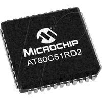 AT80C51RD2-SLSUM - MCU, 8-Bit, ROMless, 40 MHz, 1,25 KB RAM, PLCC-44