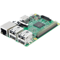 RASPBERRY PI 3UK - Raspberry Pi 3 B (UK), 4x 1,2GHz, 1GB RAM, WLAN, BT