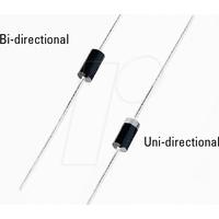 P6KE 15A - TVS-Diode, Unidirectional, 15 V, 600 W, DO-204AC/DO-15