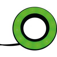 APEM APM QH220 27GC - LED-Signalring, Ø22/42 mm, grün, schwarz, matt, IP67