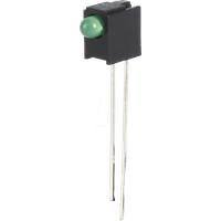 EVL A264B/SYG/S5 - LED-Baustein, grün, 3 mm, 50 mcd, 60°
