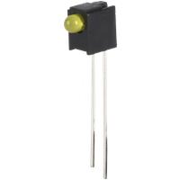 EVL A264B/UY/S53 - LED-Baustein, gelb, 3 mm, 100 mcd, 60°