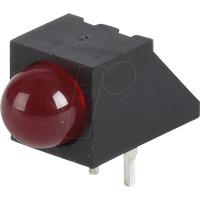 EVL A93B/SDR/S53 - LED-Baustein, rot, 5 mm, 1,6 mcd, 45°