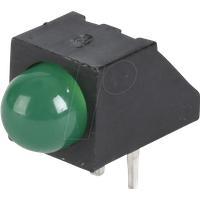 EVL A93B/SYG/S53 - LED-Baustein, grün, 5 mm, 80 mcd, 45°