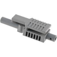 HFBR4503Z - LWL-Steckverbinder Simplex Latching mit Crimp-Ring, grau