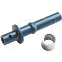 HFBR4511Z - LWL-Simplex-Verbinder/Crimpring, blau