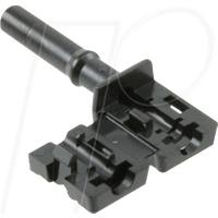 HFBR4531Z - LWL-Steckverbinder Simplex nicht-verriegelnd schwarz