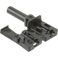 HFBR4532Z - LWL-Steckverbinder Simplex verriegelnd schwarz