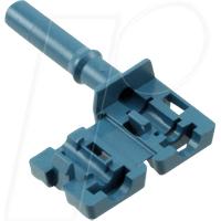 HFBR4533Z - LWL-Steckverbinder Simplex nicht-verriegelnd blau