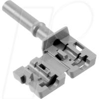 HFBR4535Z - LWL-Steckverbinder Simplex nicht-verriegelnd grau
