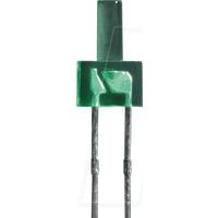 LED 2MM FT GN - Flat-LED, 2,0 mm, bedrahtet, grün, 12 mcd, 70°
