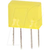FLED 5X10 RT - Flächen-LED, 20 mcd, 5x10 mm, rot