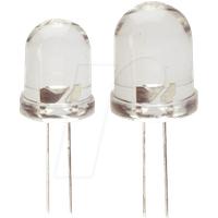 LED LL 8-13500WS - LED, 8 mm, bedrahtet, kaltweiß, 13500 mcd, 30°