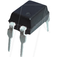 LTV 817C - 1-fach Optokoppler, 5kV, 35V, 50mA, 200-400%, DIP-4